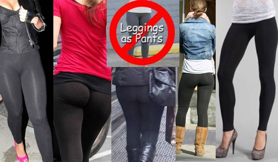 """In general I think leggings are a good accessor, as long as they are under a dress or large blouse, but do not serve to replace """"pants."""" However, I prefer they be traditional colors and materials."""