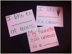 Always answer in complete sentences (Psst: We like ice cream too!)